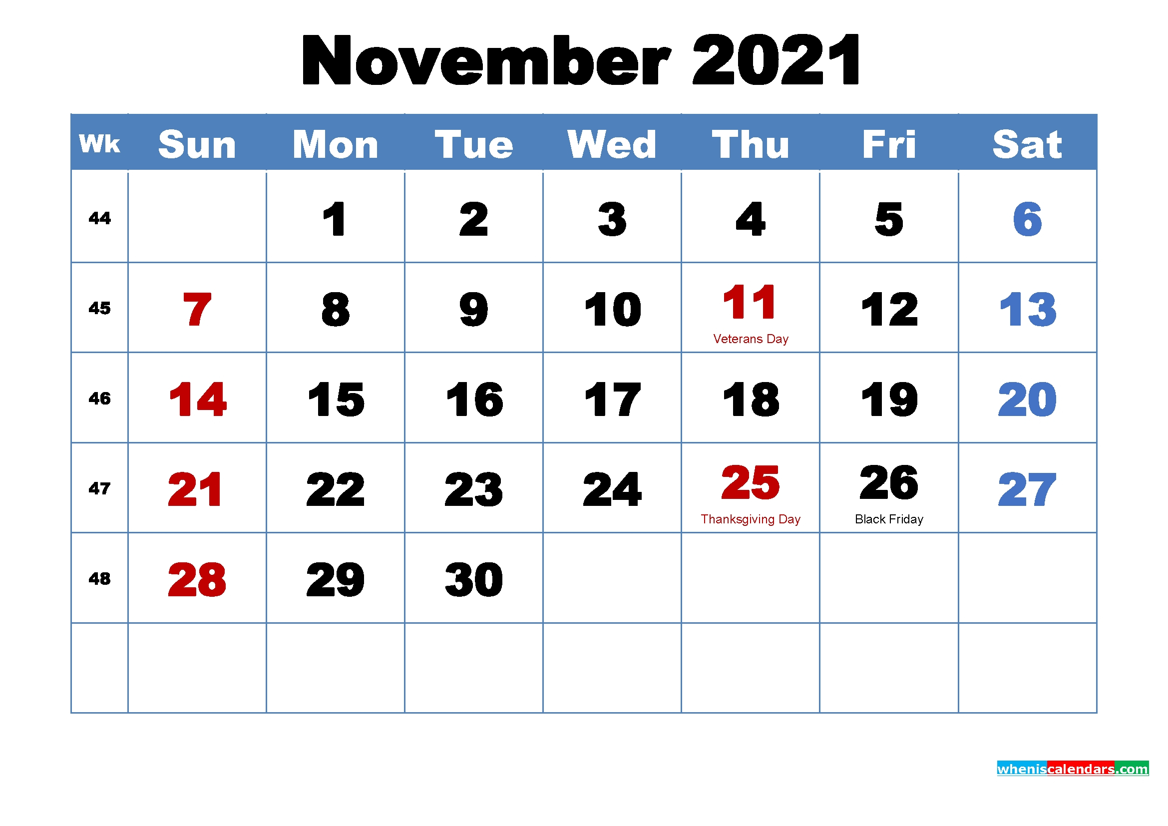 When Is Thanksgiving In 2021 2 | Avnitasoni for Malayalam Calendar 2021 November