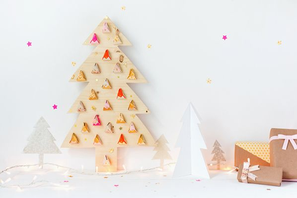 Wooden Tree Advent Calendar | Calendrier De L'Avent inside Jennifer Maker Advent Tree