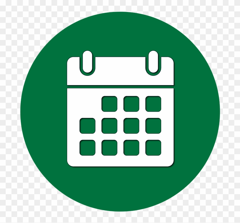 Workshop Calendar  Date Icon Png Transparent  Free pertaining to Calendar Icon Green