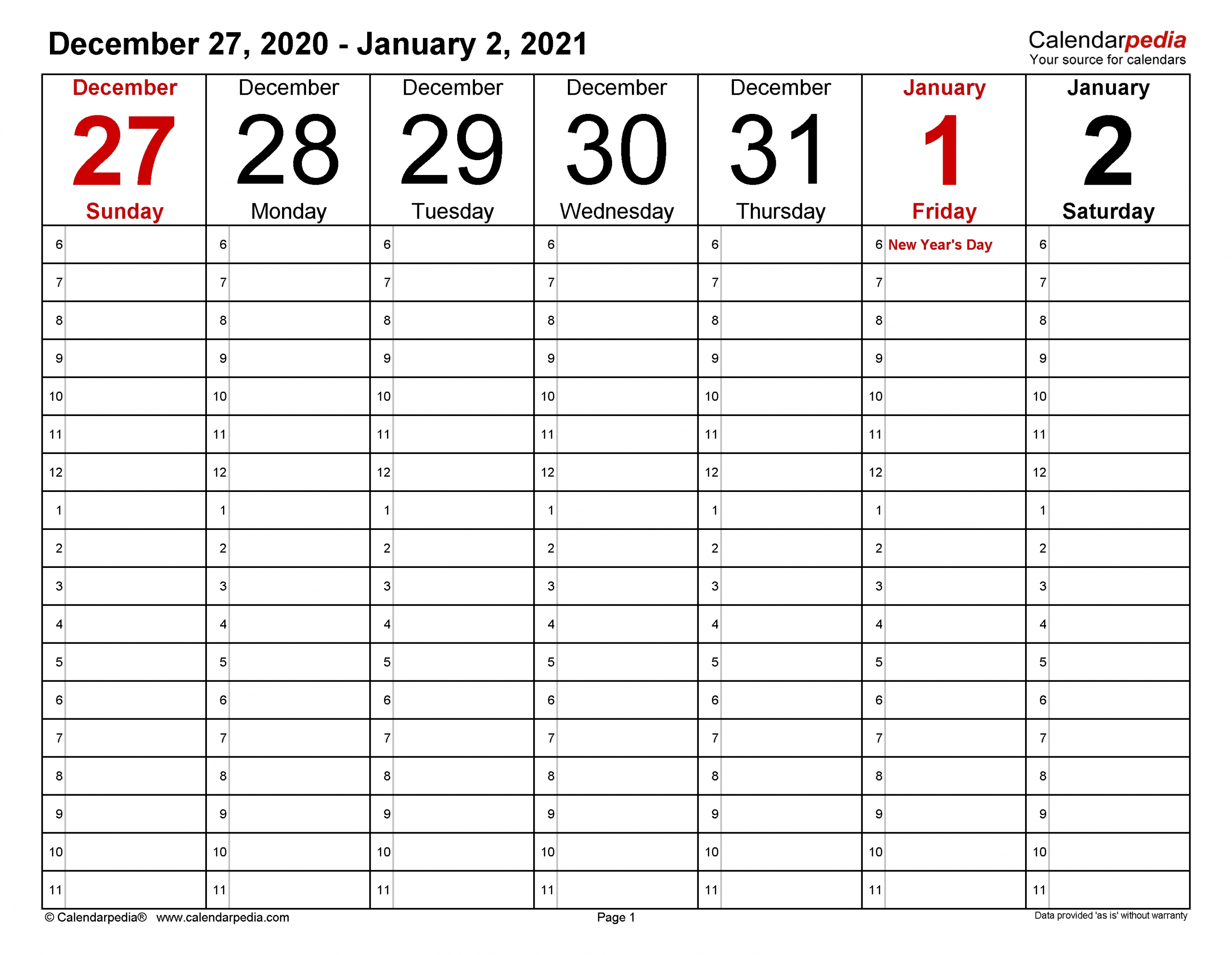 How To Free Printable Weekly Hourly Calendar 2021 | Get intended for 2021 Lined Calendar Printable Excel
