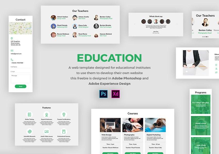20 Free Adobe Xd Ui Kits For Web & Mobile App Designers regarding Xd Calendar Kit