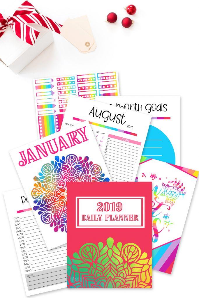2019 Daily Planner  Sarah Titus inside Sarah Titus Printables