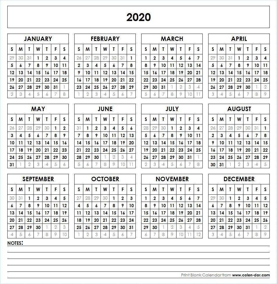 2020 Vertex Calendars Printable Free | Calendar Template with Vertex Free Calendar