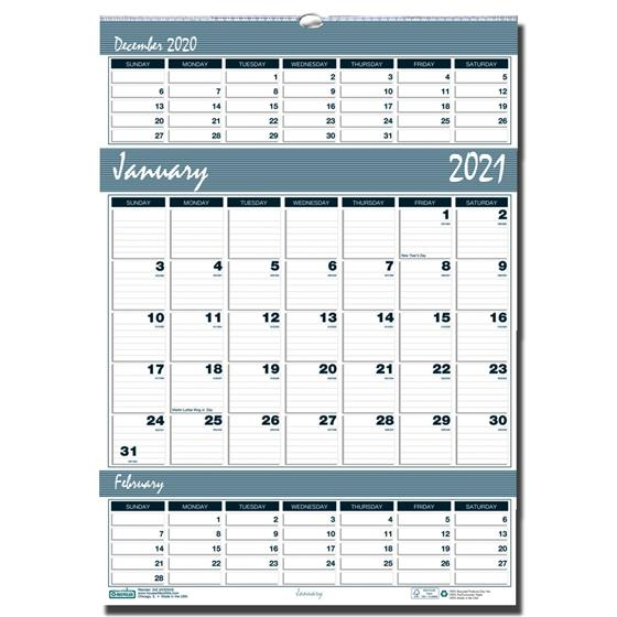 2021 342 Hod342 House Of Doolittle Recycled 3Month Wall throughout Last 3 Month Of 2021 Calendar