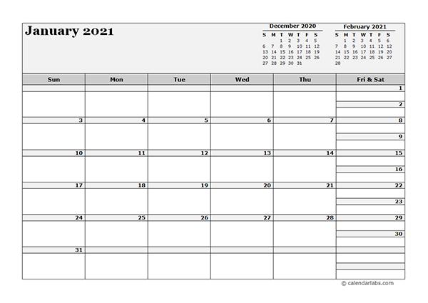 2021 Blank Three Month Calendar  Free Printable Templates with Blank 3 Month Calendar