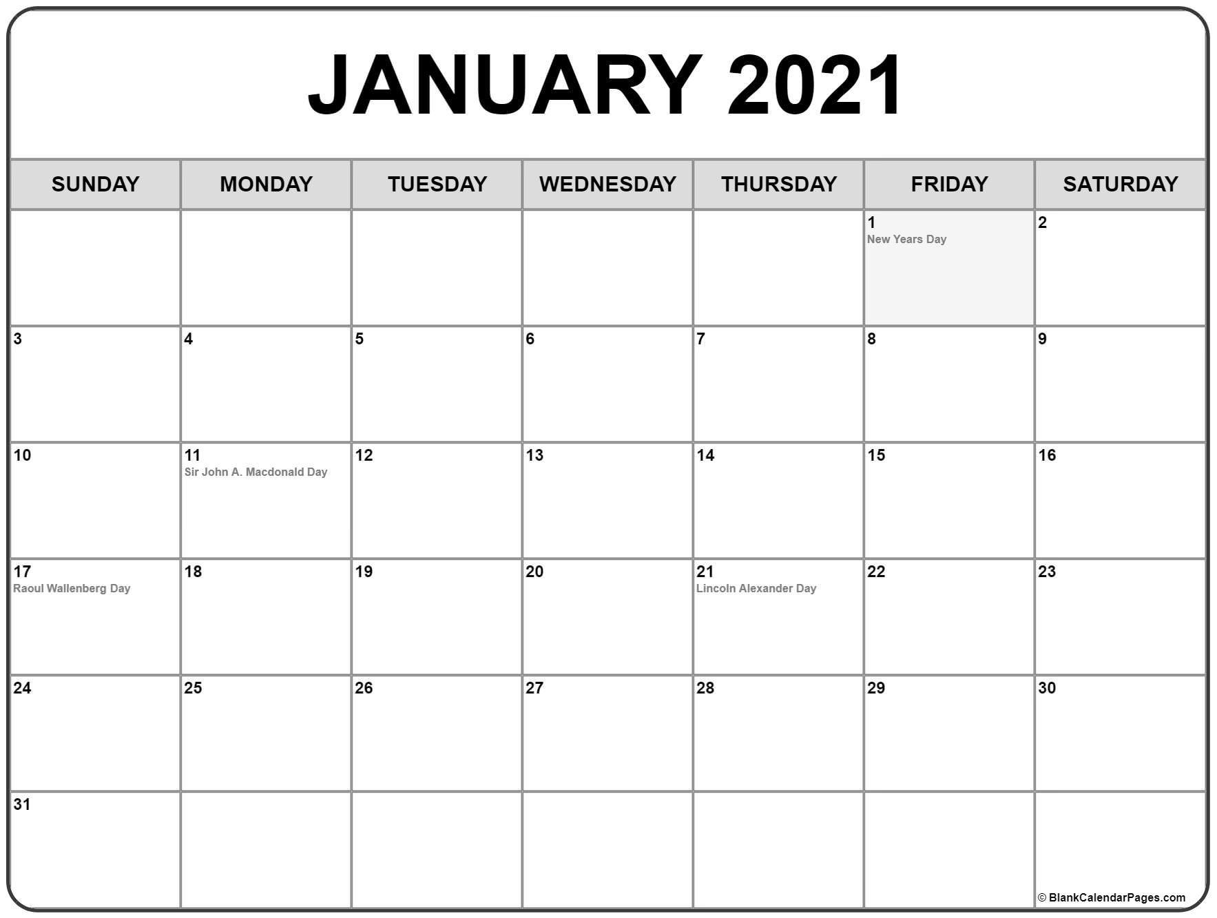 2021 Calendar With Bank Holidays  Example Calendar Printable for 2021 Writable Calendars By Month