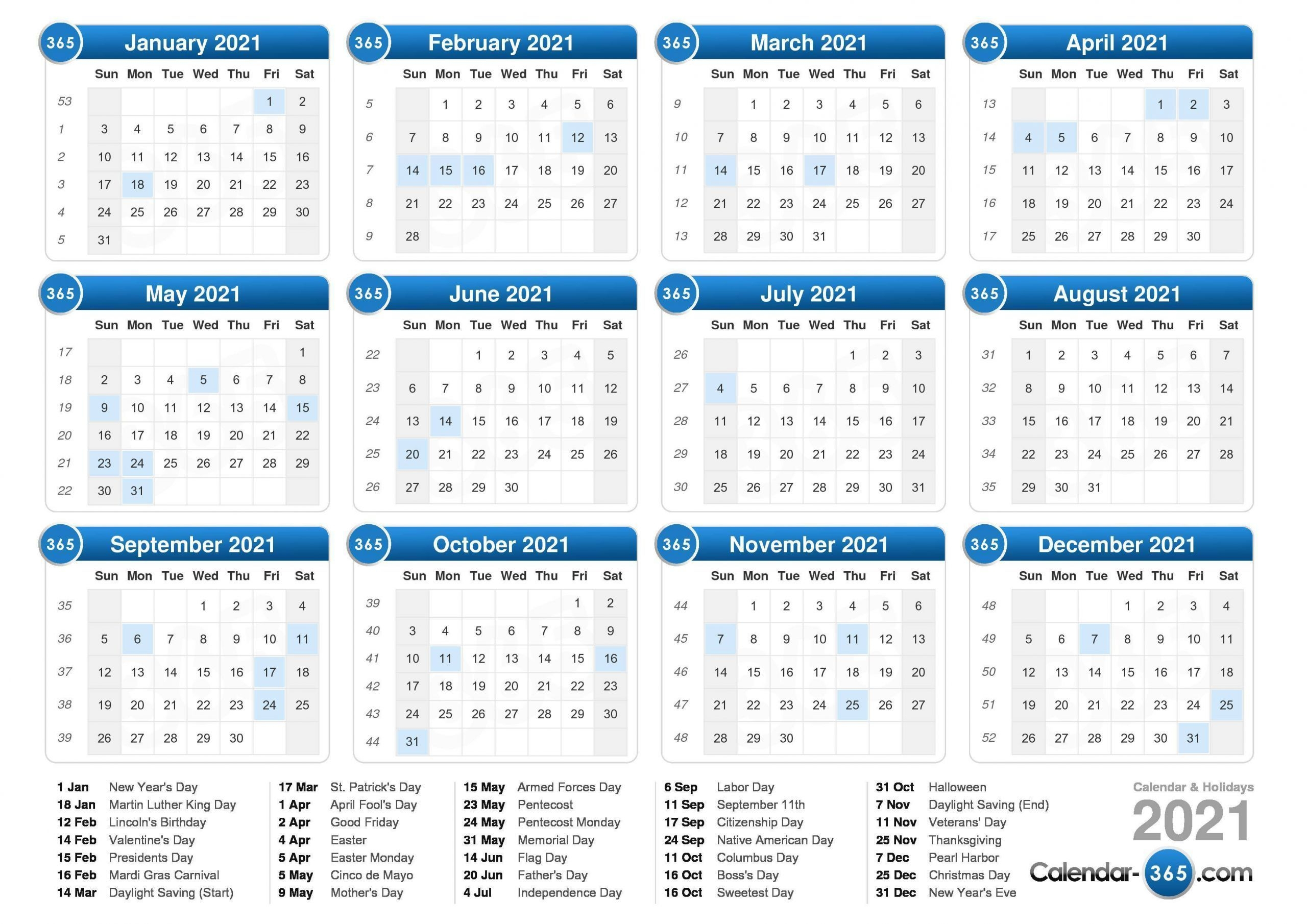 2021 Calendar With Numbered Days  Example Calendar Printable for Free Printable Calendar With Lines On Days 2021