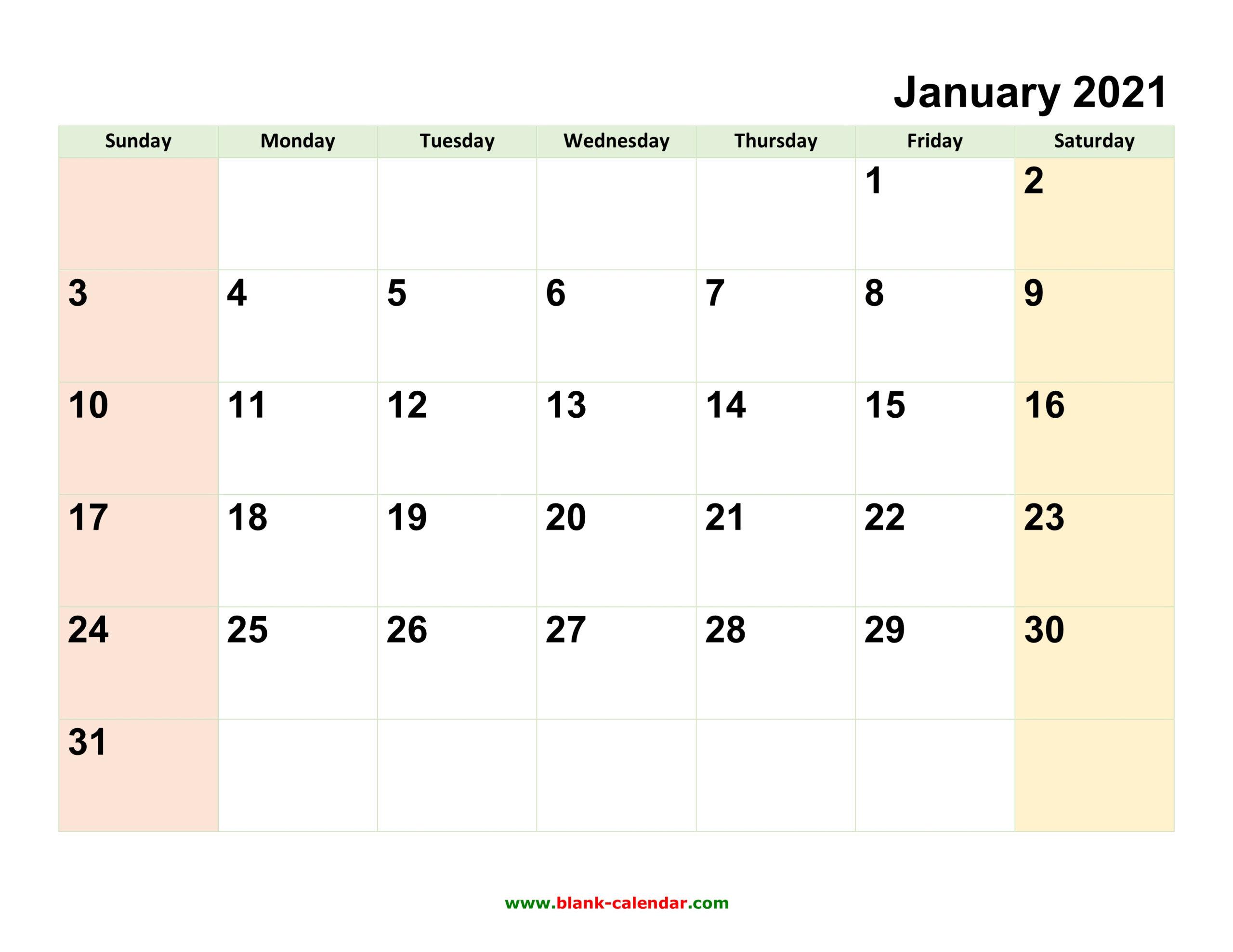 2021 Editable Word Calendar | Example Calendar Printable with 2021 Excel Printable Calendars