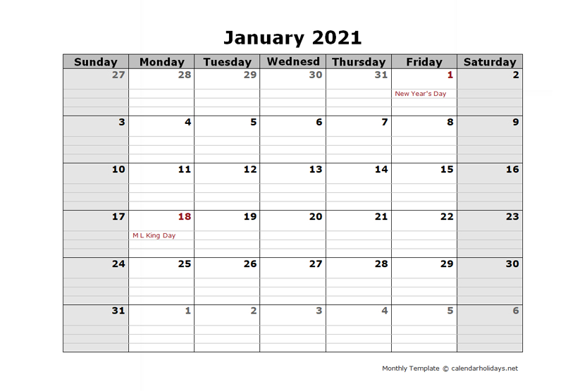 2021 Monthly Template  Calendarholidays pertaining to Google Printable Monthly Calendar 2021
