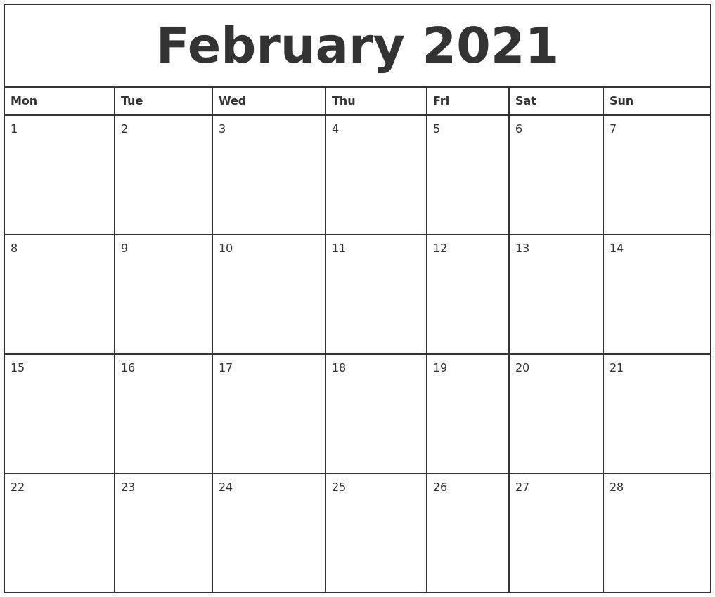2021 Printable Daily Calendar   2021 Printable Calendars with regard to Blank Printable Calendars 3 Month 2021