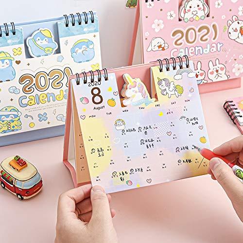 2021Calendar Desktop Desk Calendars Wall Calendars 2020 intended for Advice From A Unicorn Desk Calendar
