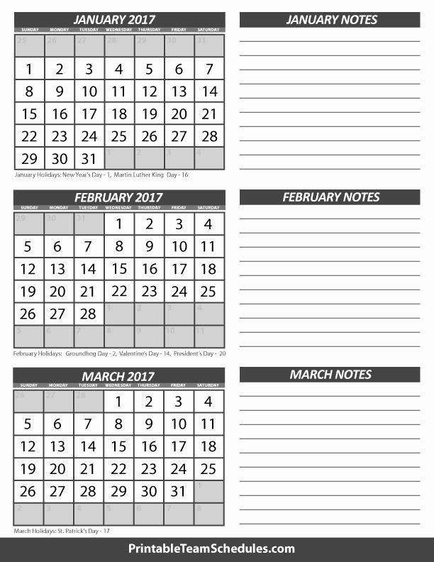 3 Month Blank Calendar Template In 2020   Calendar inside Blank 3 Month Calendar