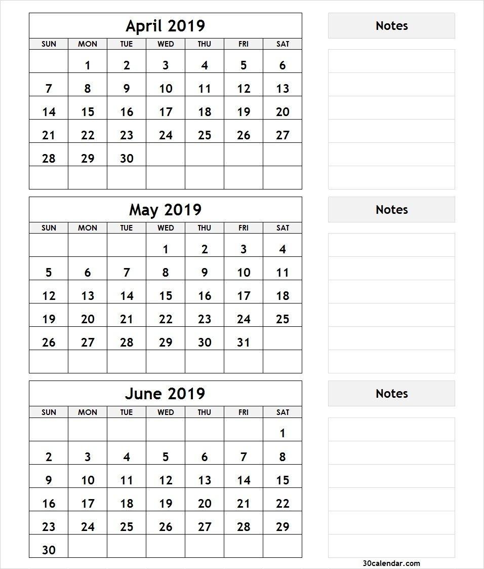 3 Month Blank Printable | Calendar Template Printable throughout Printable Three Month Calendar