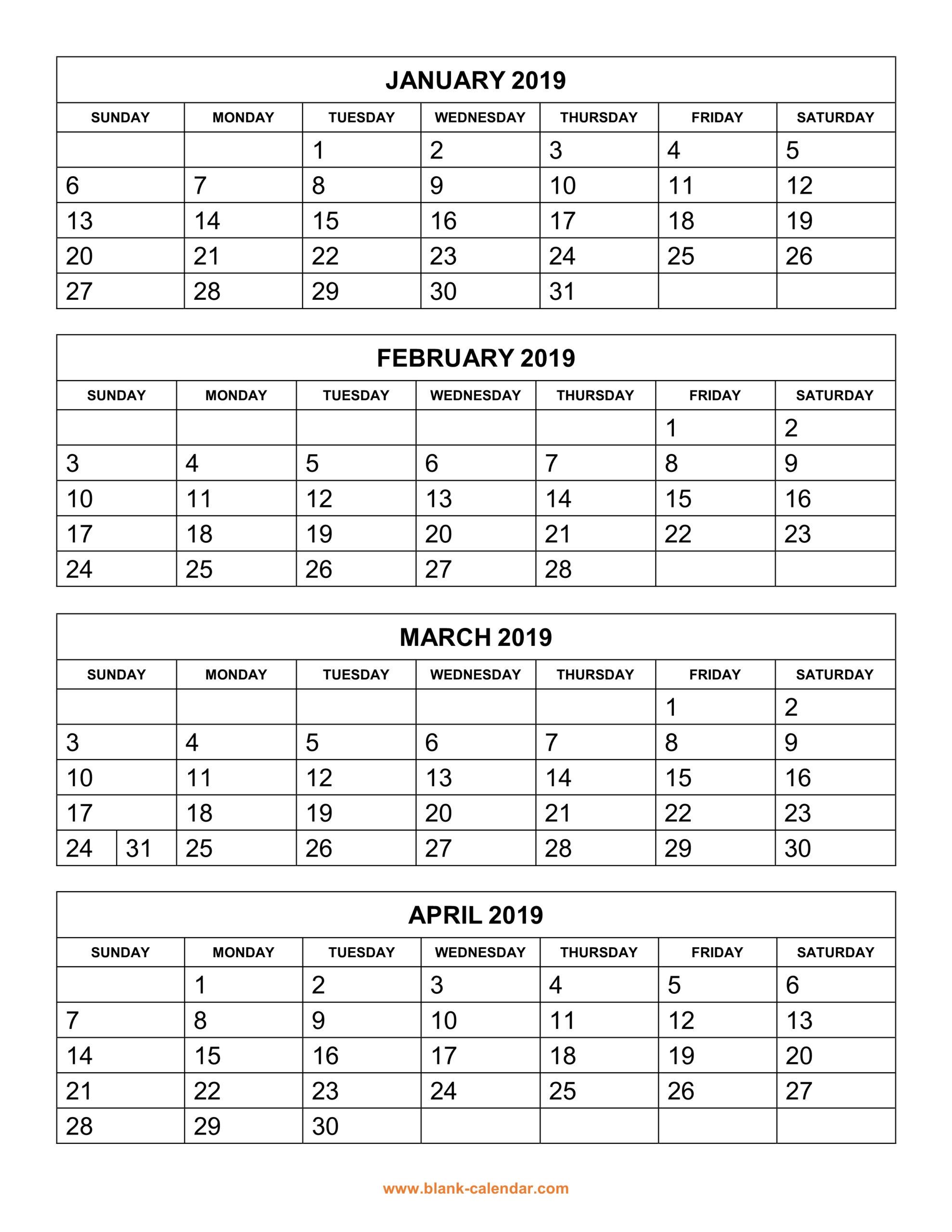 3 Month Calendar Blank   Calendar Printable Free within 3 Month Calendar Printable