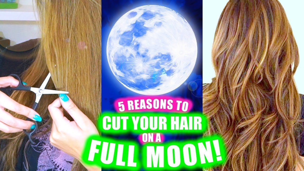 5 Reasons To Cut Your Hair On A Full Moon! │ Longer for Lunar Hair Cutting Chart 2021 Morrocco