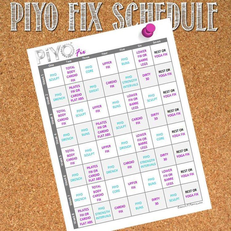 81Df2Bef13648D73E8E3D258B7C7E71F 750×750 Pixels | Piyo with regard to Piyo 21 Day Fix Hybrid