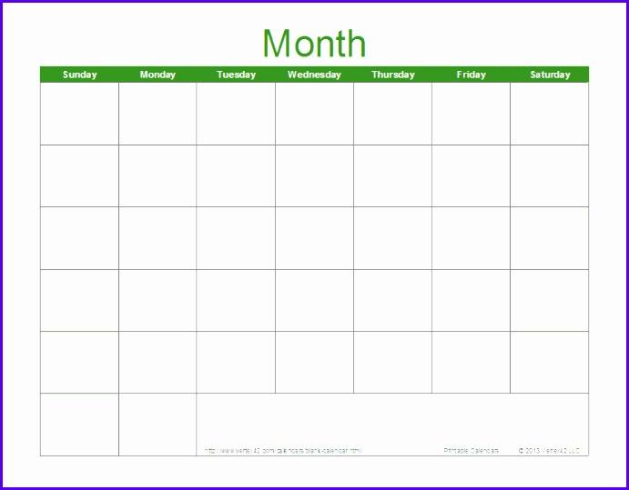 9 Download Calendar Template Excel  Excel Templates  Excel Templates with regard to Calendar In Excel Template
