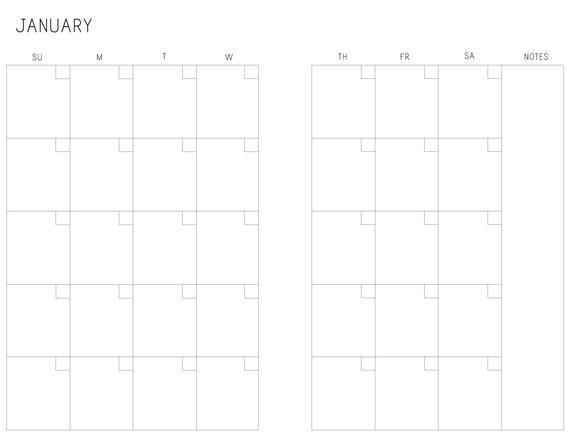 A5 Month On Two Pages Printable Calendar M2P Sundaysaturday regarding Print 2 Month Calendar