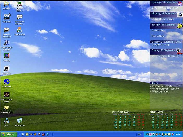 Active Desktop Calendar Download for Outlook Calendar Wallpaper
