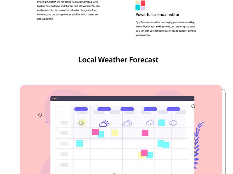 Adobe Xd Calendar App Design | Free Xd Templates with Xd Calendar Kit