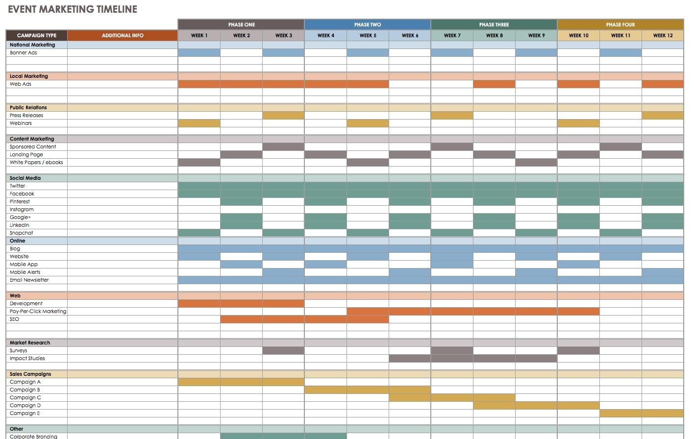 Annual Event Calendar Template Excel  Calendar Inspiration Design in Calendar In Excel Template