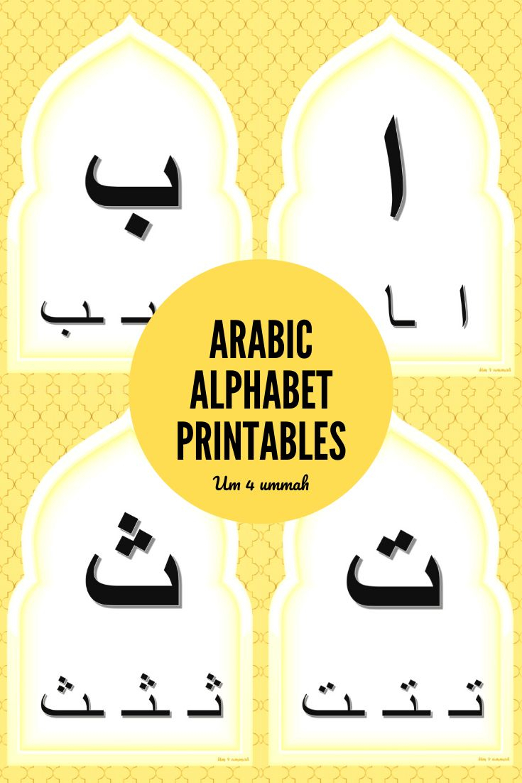 Arabic Alphabet Flash Cards With Written Forms Printables throughout Arabic Alphabet Flash Cards Printable