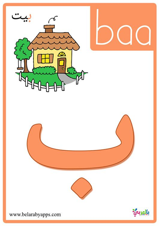 Arabic Alphabet Flashcards With Pictures | Huruf inside Arabic Alphabet Flash Cards Printable