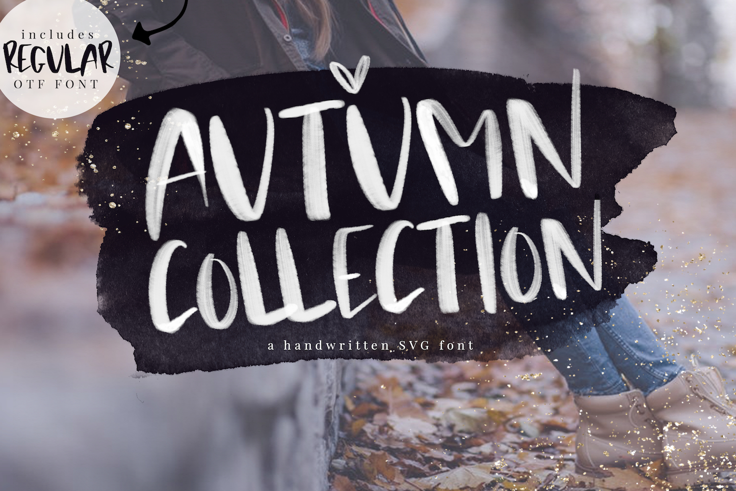Autumn Collection Otf & Svg Font (140143) | Regular | Font in Agp Font Awesome Collection