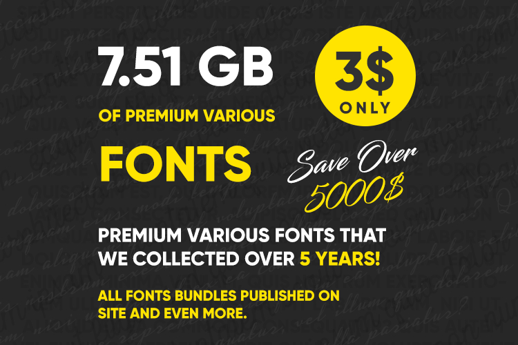Awesome Biggest Font Collection 7,51Gb #Advertising # with regard to Agp Font Awesome Collection
