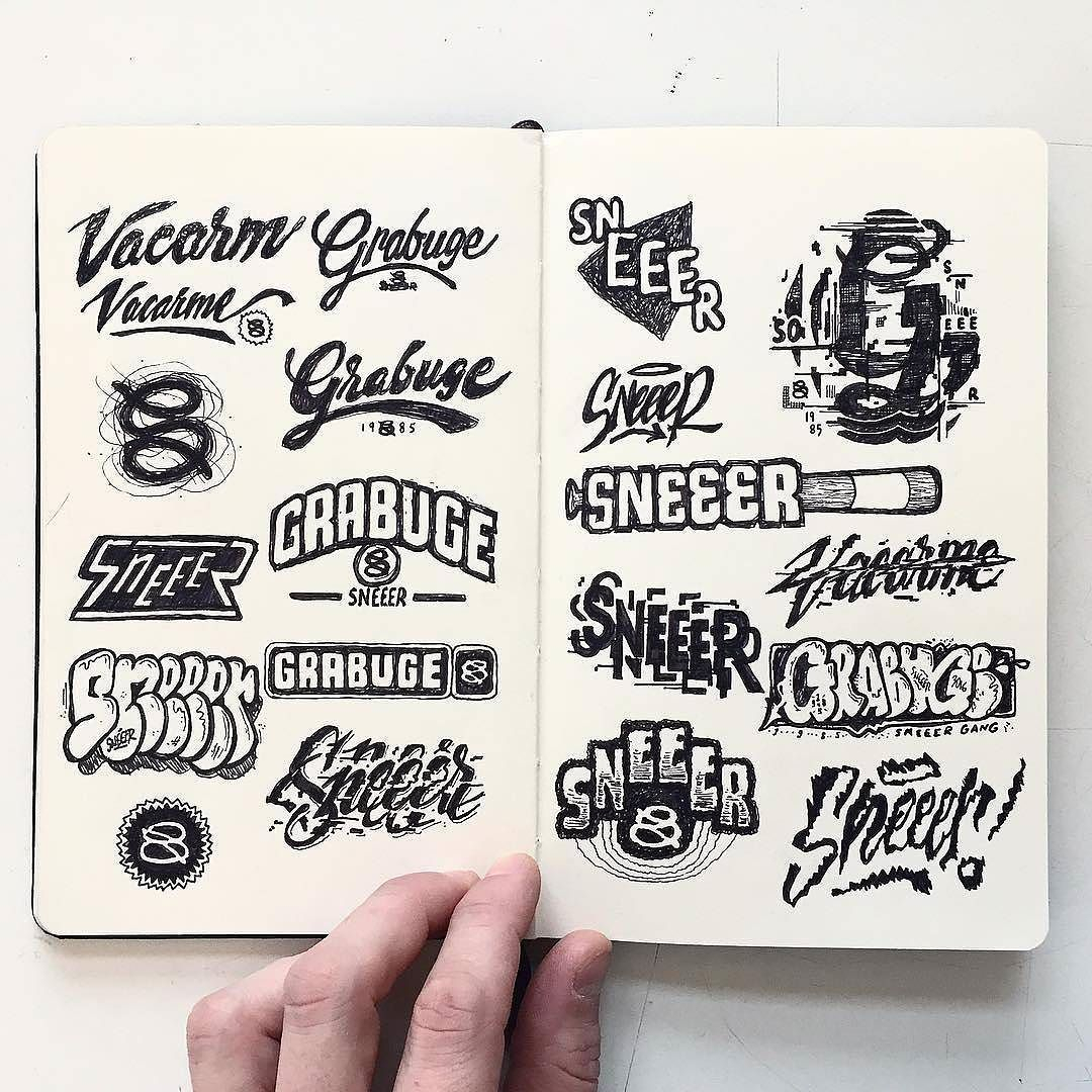Awesome Collection Of Logos By @Rylsee  #Typegang  Free with regard to Agp Font Awesome Collection