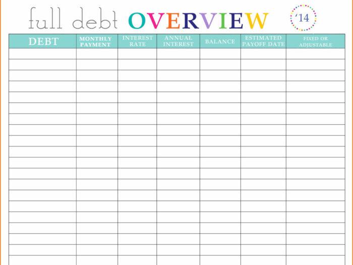 Bill Organizer Spreadsheet Throughout Monthly Bill regarding Printable Bill Organizer Sheet