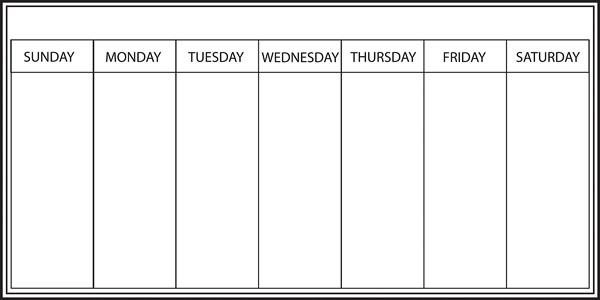 Blank 1 Day Week Calendar Template Top Five Trends In intended for Blank 5 Day Calendar