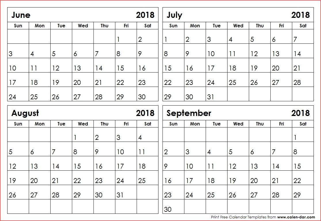 Blank Calendar 3 Months Per Page  Calendar Printable Free with Blank 3 Month Calendar