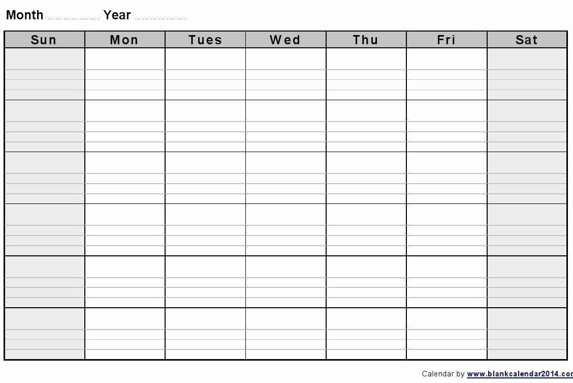 Blank Printable Two Week Calendar :Free Calendar Template within Calendar Two Weeks
