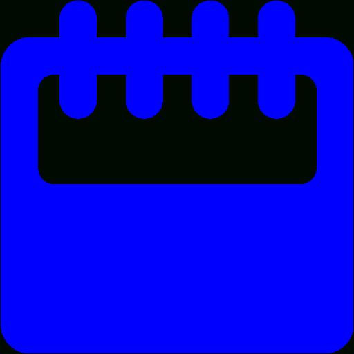 Blue Calendar 11 Icon  Free Blue Calendar Icons inside Calendar Icon 16X16