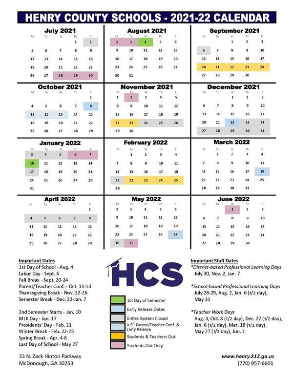 Board Of Education Adopts 202122, 202223 School Year within Uga School Calendar