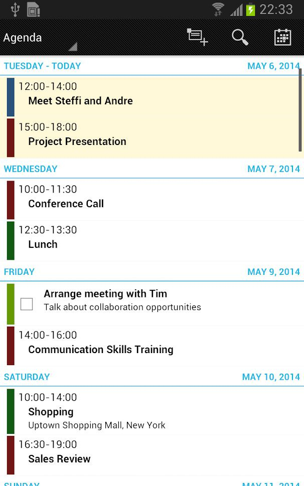 Business Calendar Pro   Download Gratis Da Html.it with regard to React Native Calendar Agenda