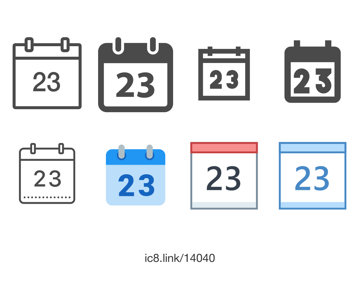 Calendar 23 Icon  Free Download At Icons8 within Calendar Icon 16X16