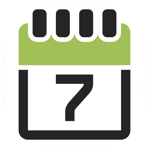 Calendar 7 Icon & Iconexperience  Professional Icons » O within Calendar Icon 16X16