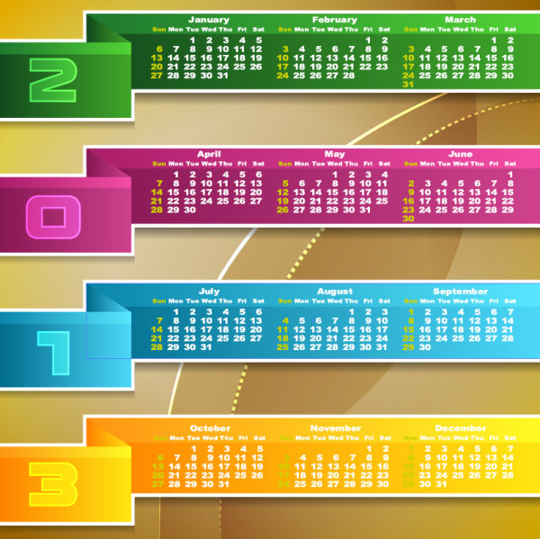 Calendar Beautifully Designed 01  Vector Material inside Calendar Icon Material Design