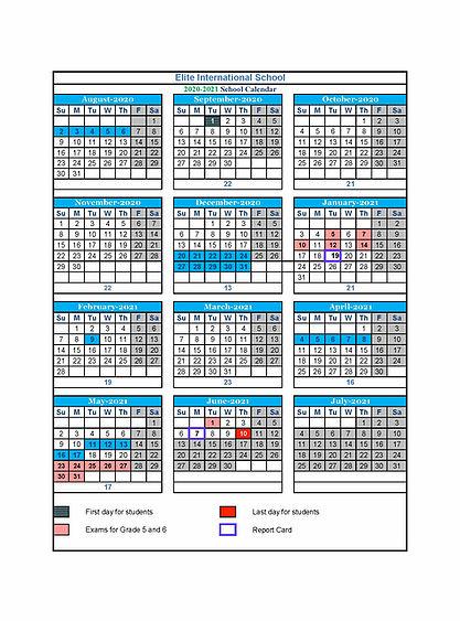 Calendar | Elite inside American School Of Doha Calendar