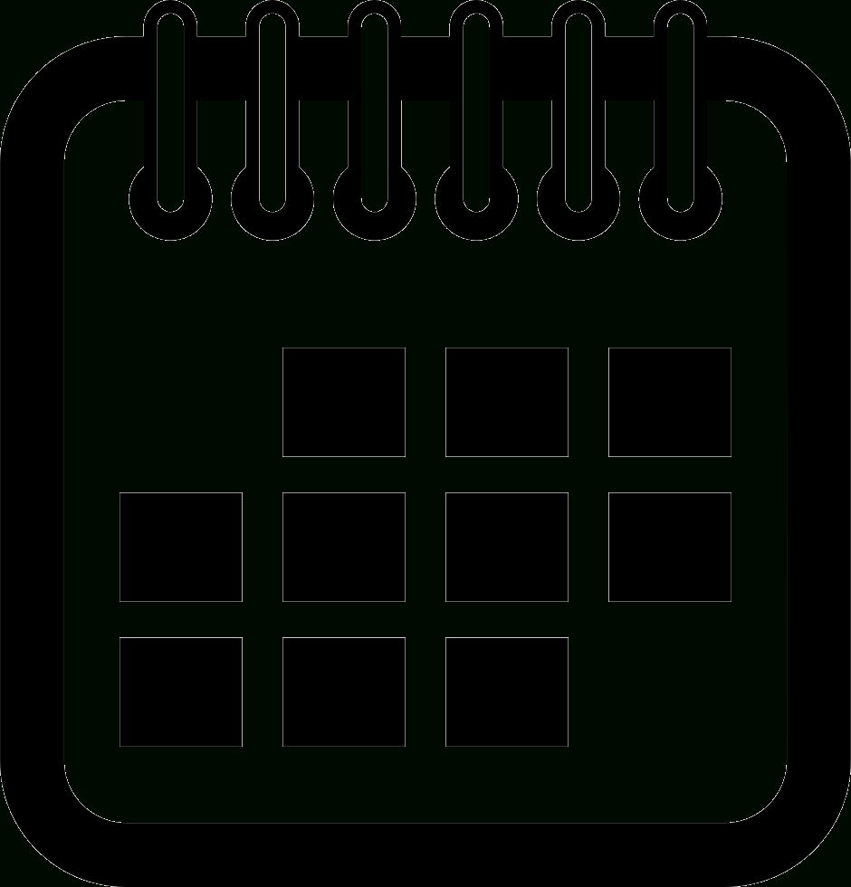 Calendar Interface Symbol Svg Png Icon Free Download for Calendar Icon Vector Png