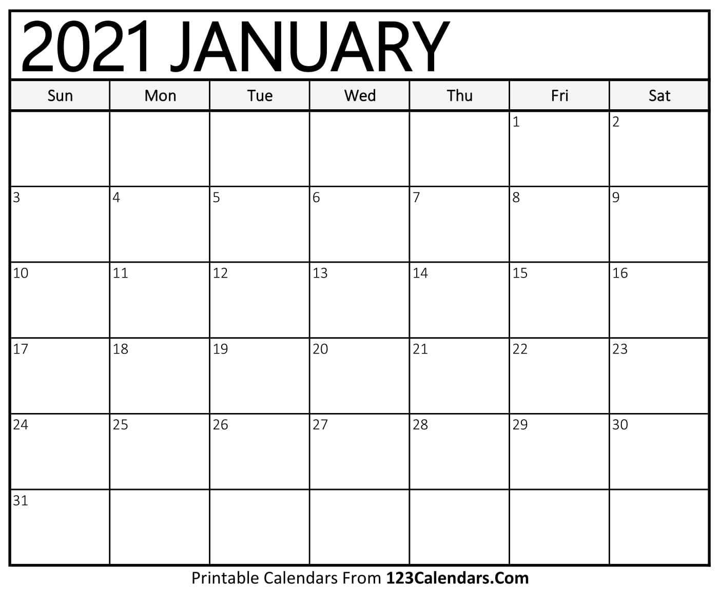 Calendar Of Just Weekends For 2021   Calendar Printables Free Templates for 2021 Calendar Free Printable