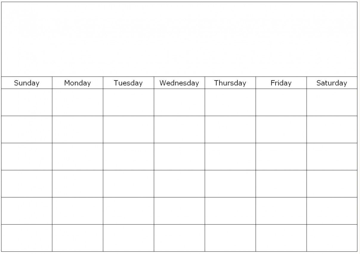 Calendar Template To Fill In 2 Things You Should Know intended for Fill In The Blank Calendar