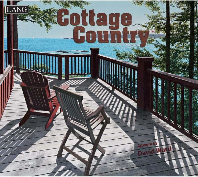 Cottage Country 2021 Wall Calendar   Hallmark Awesome with December Calendar 2021 Empire And Puzzles