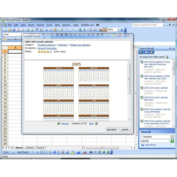Create A Calendar In Microsoft Excel Or Insert A Reference for Calendar Control Excel