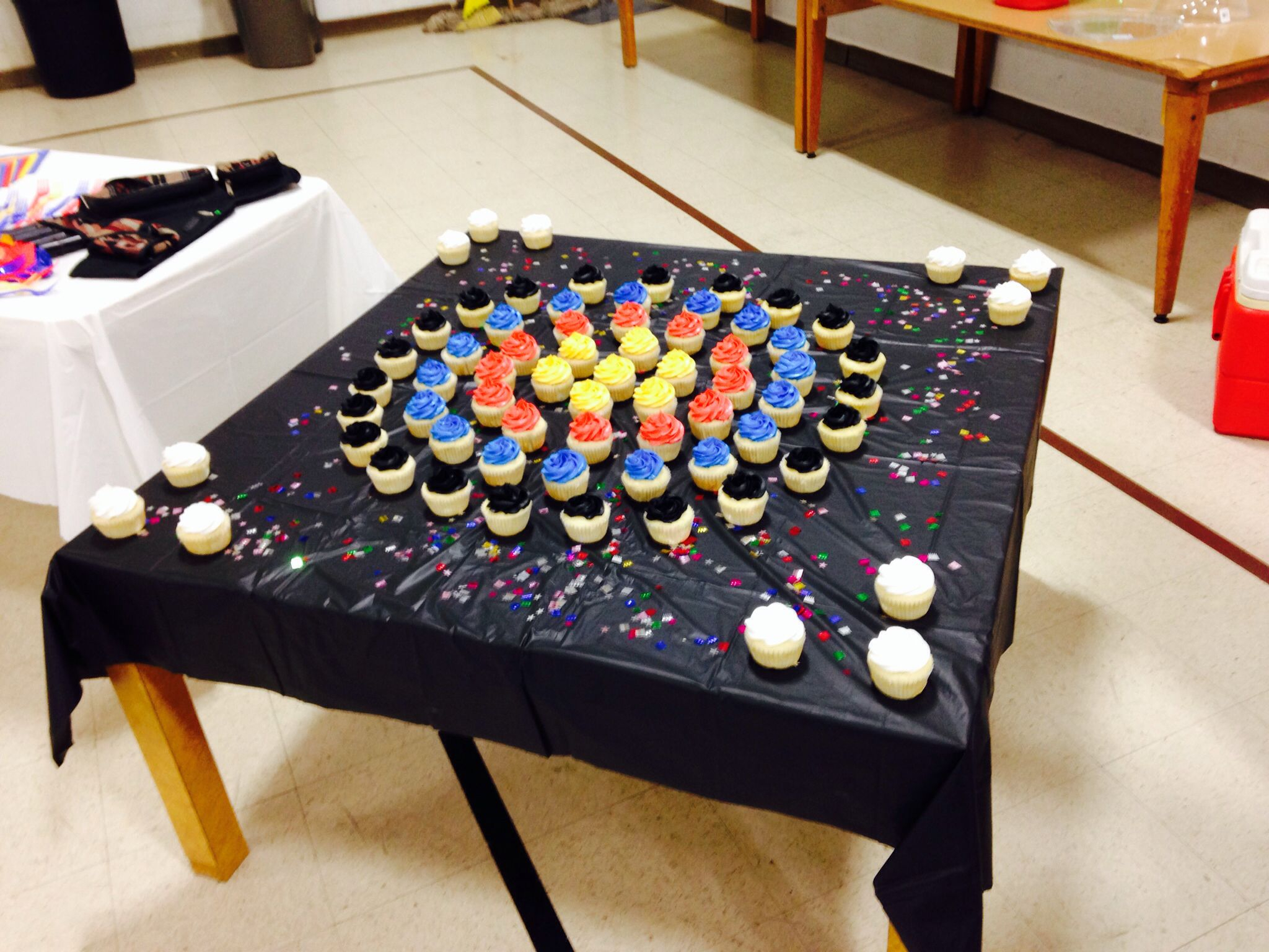 Cupcake Display. Target Theme. Archery Theme. Birthday inside Cupcake Birthday Display