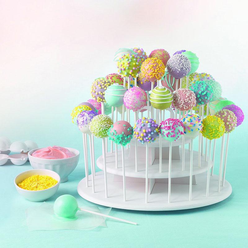 Cupcake Holder Stand Tower Lollipop Display Plastic White with regard to Cupcake Birthday Display