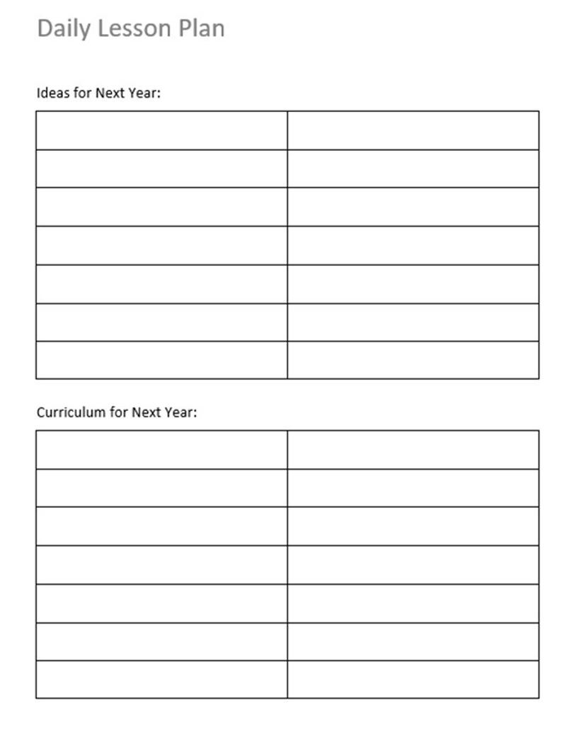 Daily Planner School Year And Weekend Lined Fill In The throughout Fill In Calendar