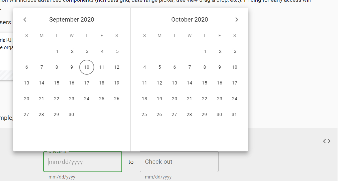 Date Range Picker  Allow User To Select Year · Issue pertaining to Qualtrics Date Range Picker